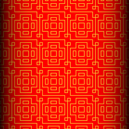blessings: Chinese vector seamless pattern. Endless texture can be used for wallpaper, pattern fills, web page background,surface textures.