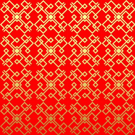 Chinese vector seamless pattern. Endless texture can be used for wallpaper, pattern fills, web page background,surface textures.