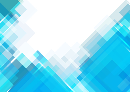 shade: Blue shade rectangle background with space