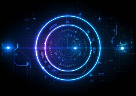 Light Futuristic Game Center Circuit Digital Background