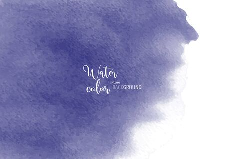 Hand-painted background purple stain watercolor texture, isolated on white background, Abstract artistic element used as being an element in the decorative design of invitation, cards, cover or banner. Ilustrace