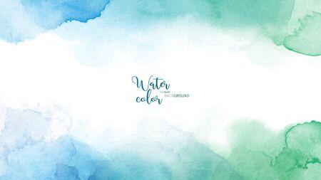 Abstrakte Oberfläche Aquarell Grunge Hintergrund. Färben Sie künstlerischen Vektor als Element im dekorativen Design von Header, Broschüre, Poster, Karte, Cover oder Banner.