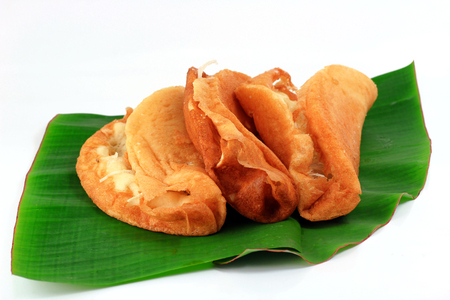 Thai desserts on isolate and white background
