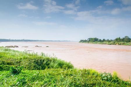 mekong: The undermost area of Mekong River