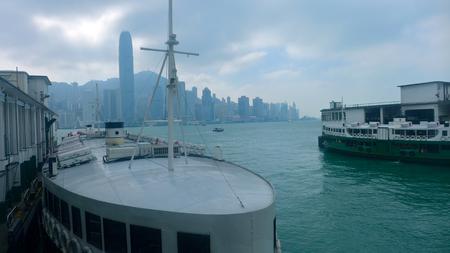 hong kong harbour: Hong Kong Harbour from Kowloon
