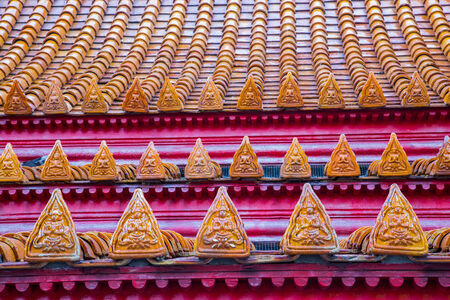 social history: Temple Roof of Thailand  Wat Benchamabophit