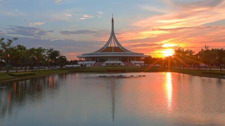 ix: Public park at Suanluang Rama 9