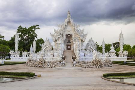 White Temple of Thailand photo