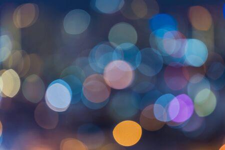 Bright colorful bokeh background Foto de archivo