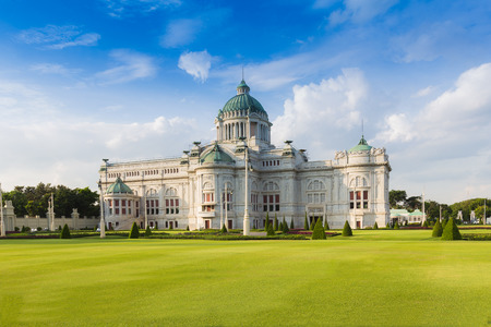 thailand: The Ananta Samakhom Throne Hall (Thailand white house) in Royal Dusit Palace, Bangkok Thailand