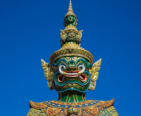 thai decor: Head of Giant statue