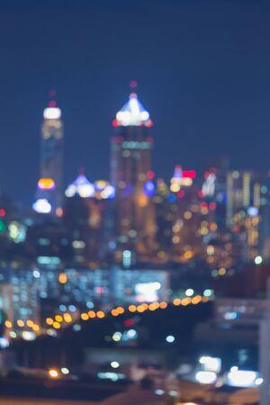 city light: Big City light blur bokeh, defocused background