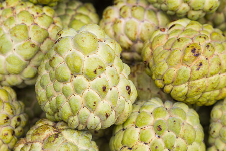 custard apple fruit: Custard apple fruit, natural food background
