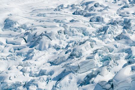 Full of soft snow on ground, natural landscape background Reklamní fotografie