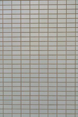 Square brick wall pattern background and texture Standard-Bild - 139589915