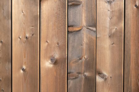 Vintage brown wooden board background and texture