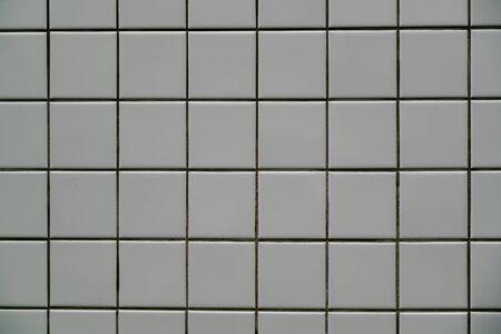 Glay pattern mosaic wall background and texture Reklamní fotografie