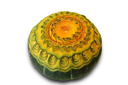 carving pumpkin: Tallado de calabazas Foto de archivo