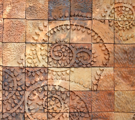 Patterns from Walls of earthenware Tile photo