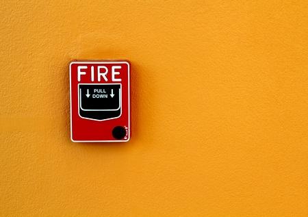 alerta: el fuego de rotura de cristal
