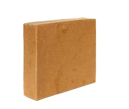 cardboard box isolated Stock Photo - 11934675