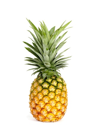 Pineapple isolated on white background Stock Photo - 13931012