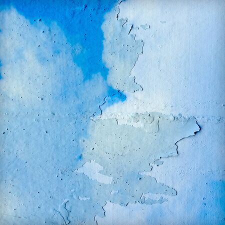 Surface of wall disintegration Stock Photo