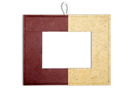 Mulberry paper frame  photo