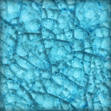 triplex: Cracked glass background