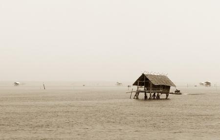 Fishing villages, Thailand photo