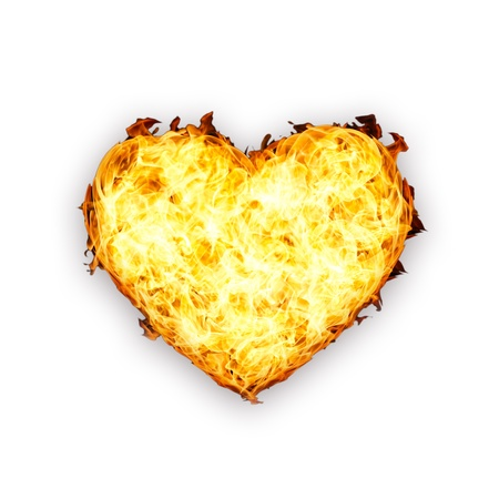 heart of fire Stock Photo - 17921545