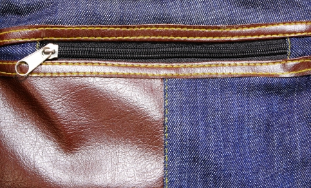 Zipped pocket of jeans Stock Photo - 19977299