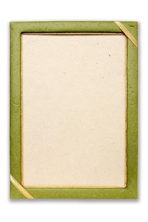 bordure de page: Cadre de papier Mulberry