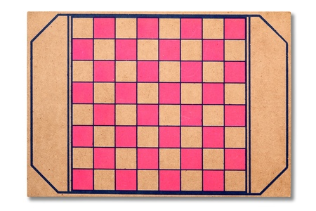 cross match: Checkers board Stock Photo