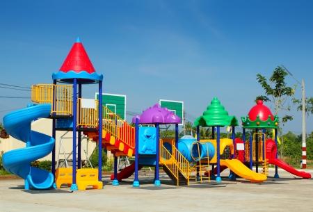 public park: Playground for children