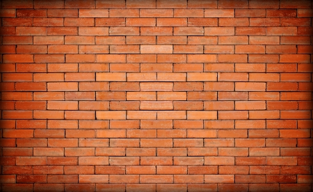 fire brick:  red brick wall texture Stock Photo
