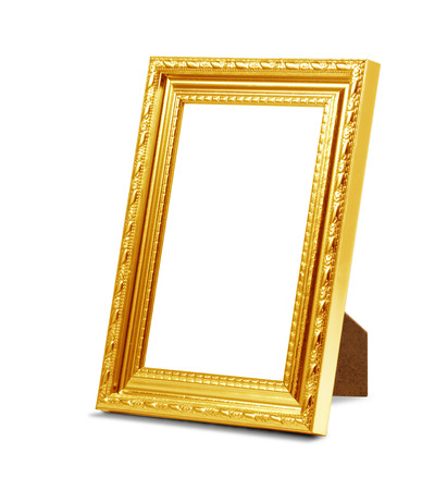 perspective frame on the white background
