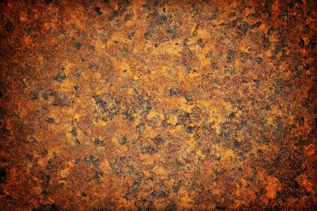 oxidized: Superficie de metal oxidado hacer un resumen de textura Foto de archivo