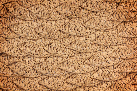 woven straw wicker background texture photo