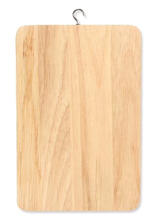 chopping board: chopping board isolated on a white background Stock Photo