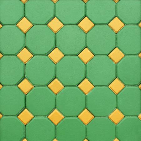 colorful bricks floor background photo