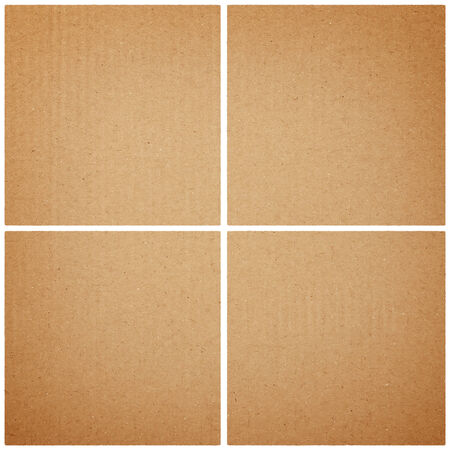 cardboard texture or background Stock Photo