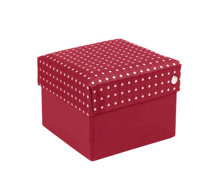 gift silk box isolated