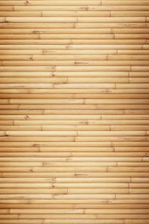 Bamboe hek achtergrond Stockfoto