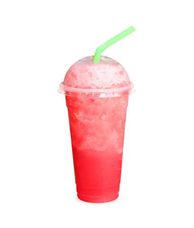 Watermelon smoothie photo