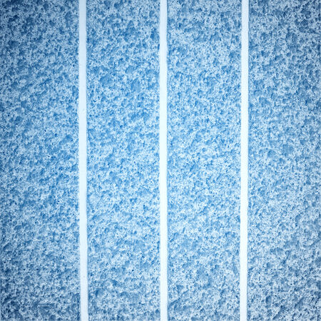 fluting: rough texture of  blue wall background