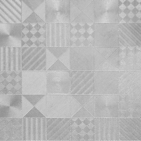 Pattern of silver tiles photo