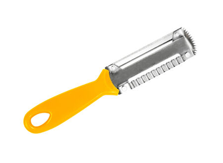 paring: Paring knife isolated on a white