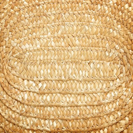 woven: Woven straw background Stock Photo