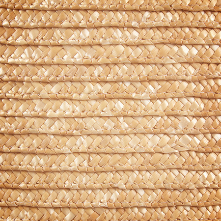 meshwork: Woven straw background Stock Photo